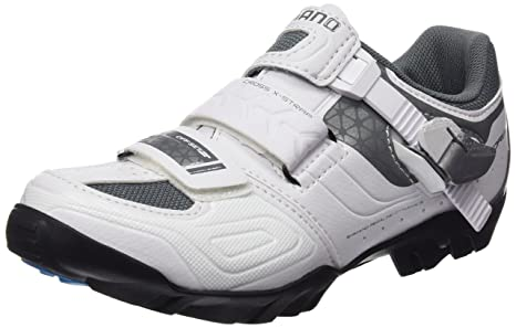 SHIMANO SHWM64C360W Zapatillas de Ciclismo de Carretera, Mujer, Blanco (White), 36