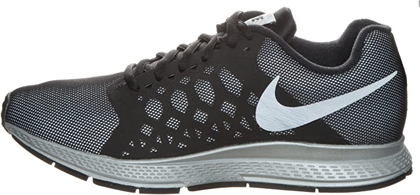 Nike Air Zoom Pegasus 31 Flash - Zapatillas de running para mujer, color negro (black/reflect silver), talla 44: Amazon.es: Zapatos y complementos