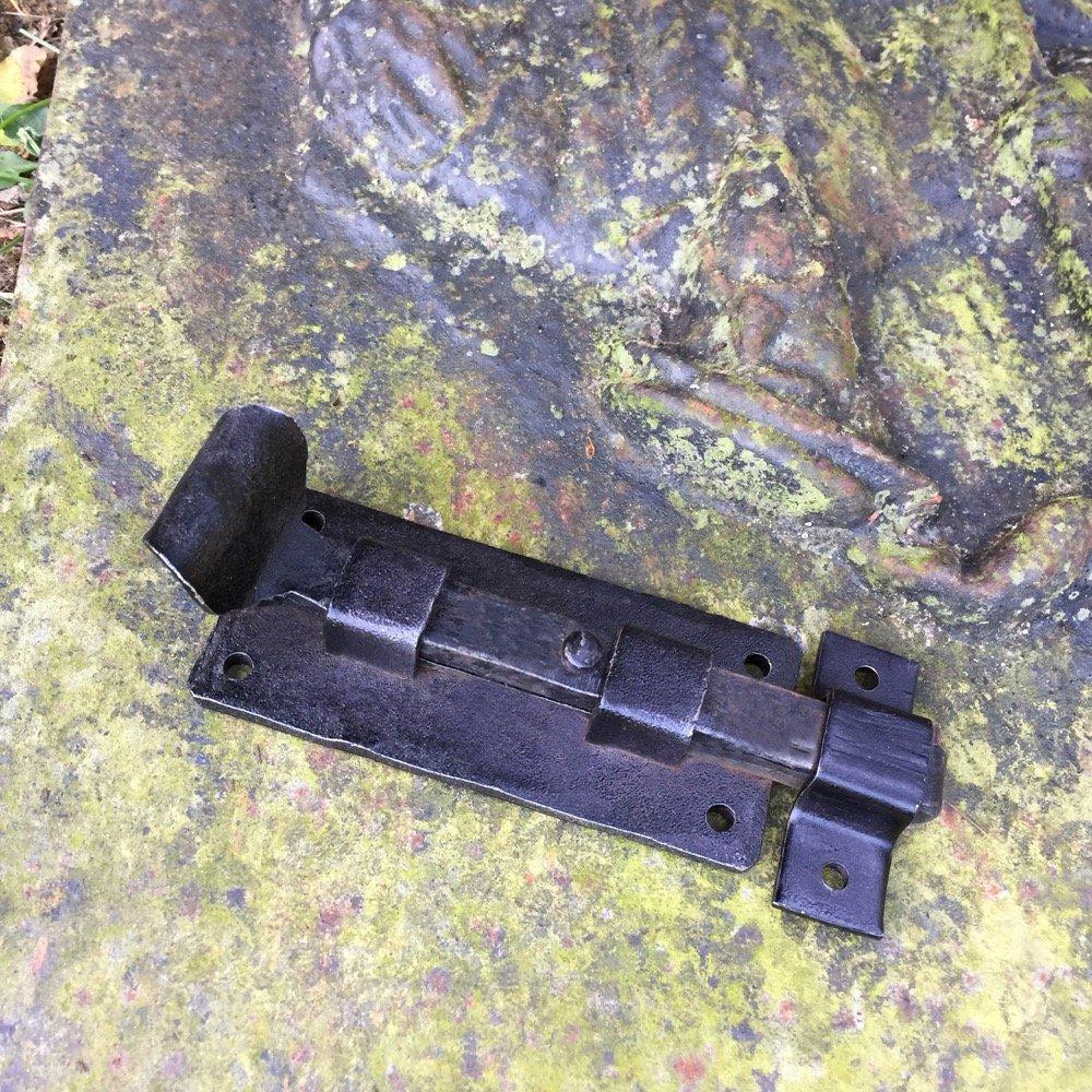 Fenster Verschluss Fallhaken T/ürverschluss WC antik Fensterverschluss Riegel Antikas