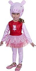 Peppa Pig Ballerina Costume, 2T