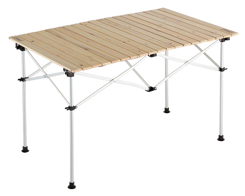 コールマン テーブル ナチュラルウッドロールテーブル110