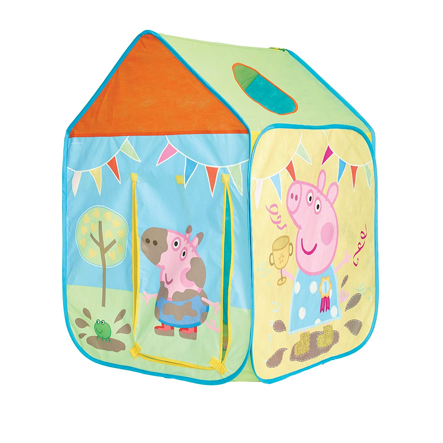 GetGo 156PGG01E Peppa Pig Wendy House Playhouse - Pop Up Role Play Tent Amazon.co.uk Toys u0026 Games  sc 1 st  Amazon UK & GetGo 156PGG01E Peppa Pig Wendy House Playhouse - Pop Up Role Play ...