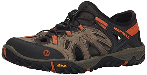 Merrell Men's All Out Blaze Sieve Water Shoe, Light Brown, ...