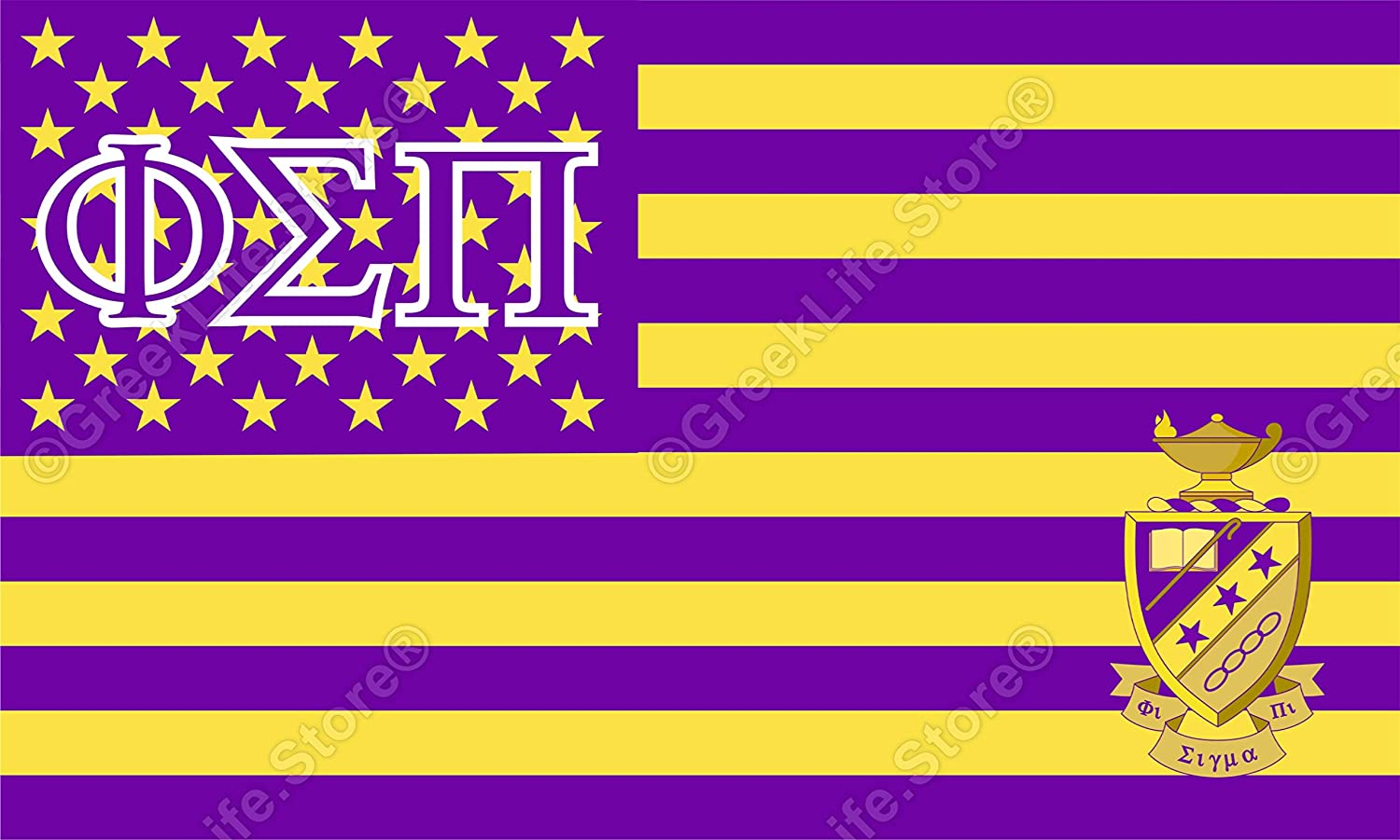 Phi Sigma Pi Officially Licensed Computer Tablet Decal Sticker 3x5 inches