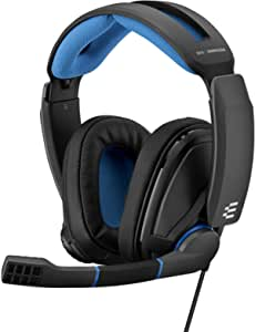 Sennheiser GSP 300 Gaming Headset,Black/Blue