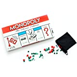 Monopoly Board Game the Classic Edition Traditional Family Fun Original Board Game - Includes Exclusive Bonus Pouch to Store Game Pieces