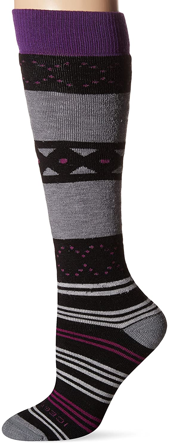 Icebreaker Women's Lifestyle Medium OTC Fiesta Socks