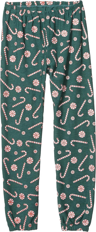 Big Kids Chaser Kids Girls Happy Holidays Pants Cozy Knit Sweatpants