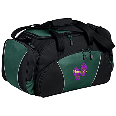 Personalized Flip Flop Metro Duffel Gym and Travel Bag (Hunter)