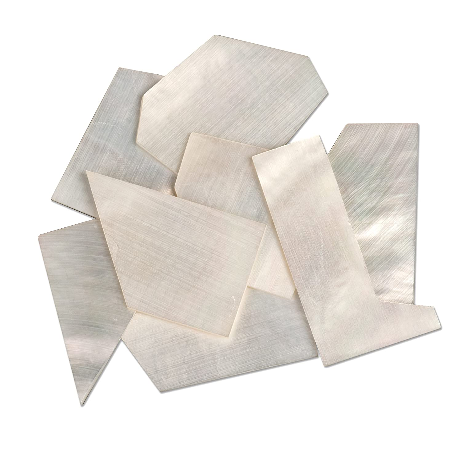 StewMac Pearl Inlay Blanks - 1oz Pack, White mother-of-pearl #AN0950