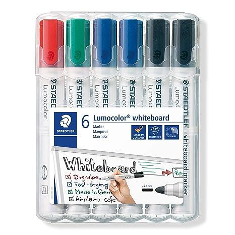 Staedtler rotulador de pizarra blanca Lumocolor 351, punta ...