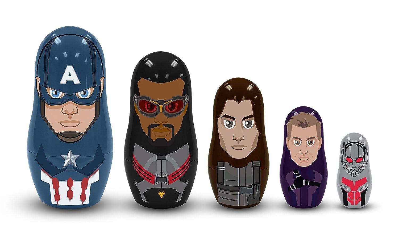 Marvel Captain America: Civil War Nesting Dolls: Team Captain America Set