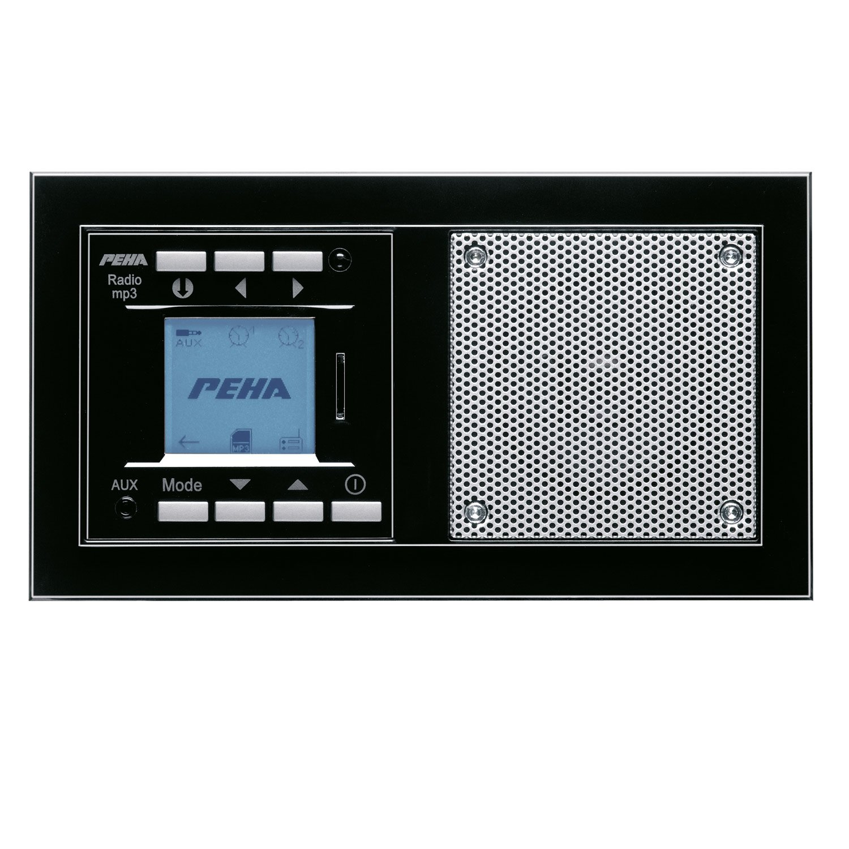 PEHA MP3 Unterputz-Radio AudioPoint im Nova-Design ohne Funksender ...