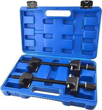 2pc Coil Spring Compressor For MacPherson Struts Shock Absorber Car Garage Tool