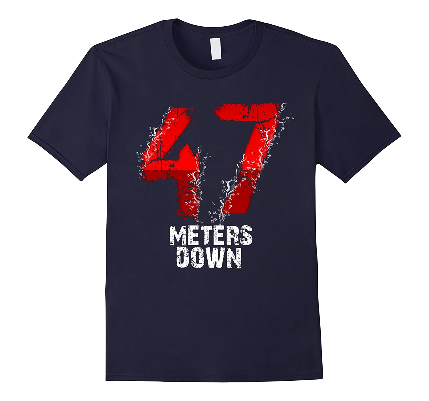 47 meters down short sleeve T-Shirt-PL