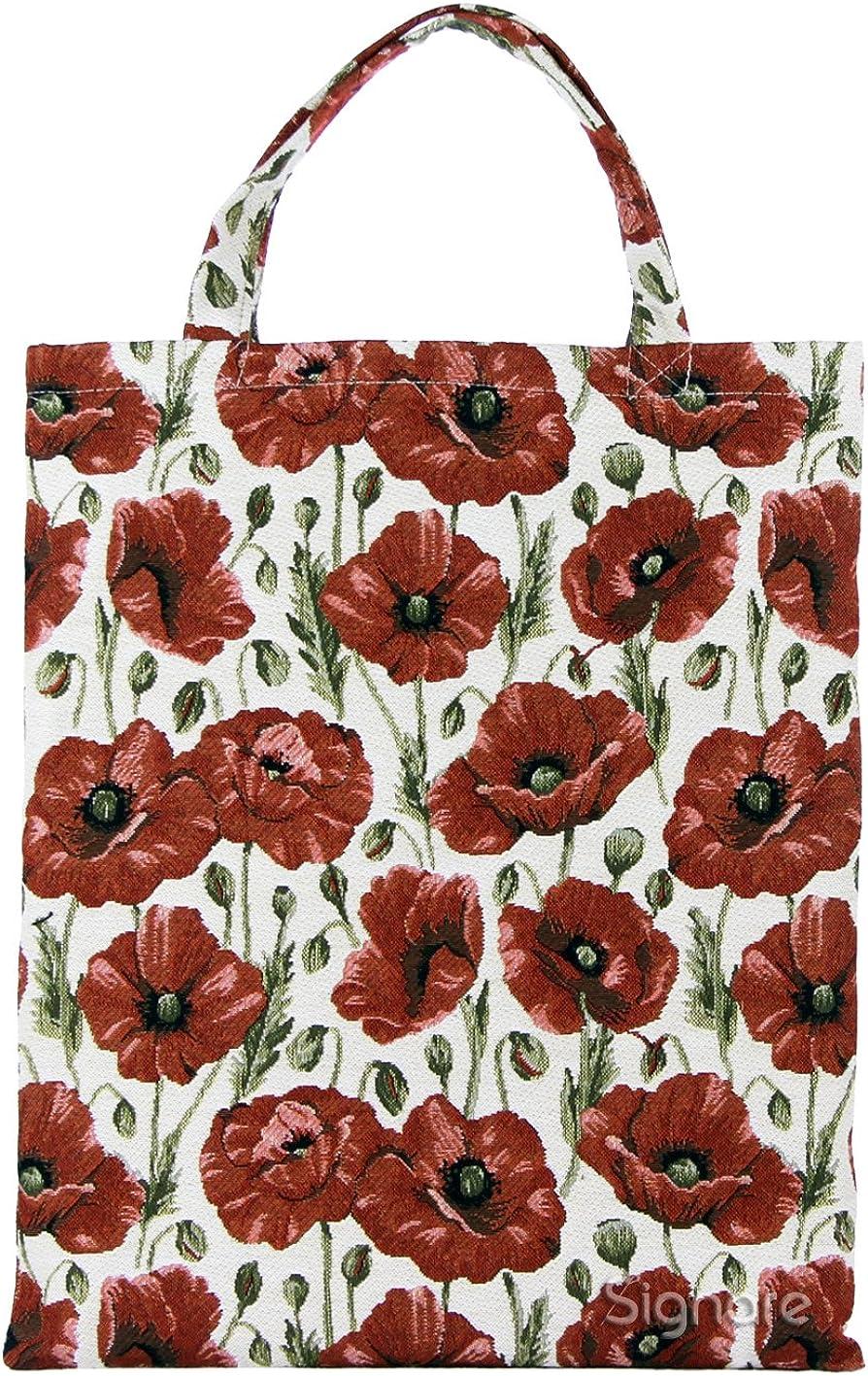 Signare Bolsa para compras reutilizable mujer en tela de tapiz bolsa eco