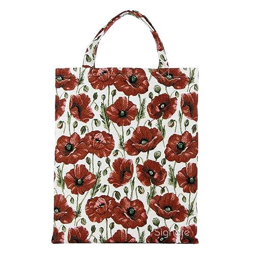 Bolsa para compras reutilizable Signare para mujer en tela de tapiz bolsa eco