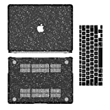 MacBook Air 13 Inch Case, Anban Slim Clear Black