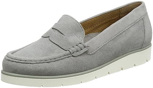 Gabor Shoes Gabor Casual, Mocasines para Mujer, Gris (Grau), 35 EU
