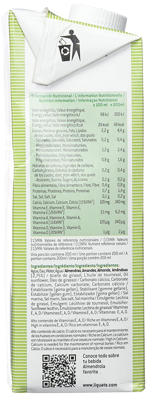 Almendrola - Leche De Almendras Sin Azúcares - 1000 ml: Amazon.es: Amazon Pantry