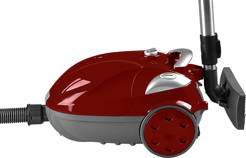 Team St 18 y aspirador trineo con bolsa rojo eléctrico 3,5 L: Amazon.es: Hogar