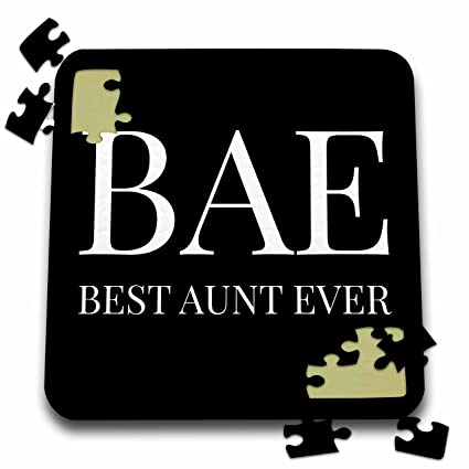 Amazon Com Xander Funny Quotes Bae Best Aunt Ever White Letters