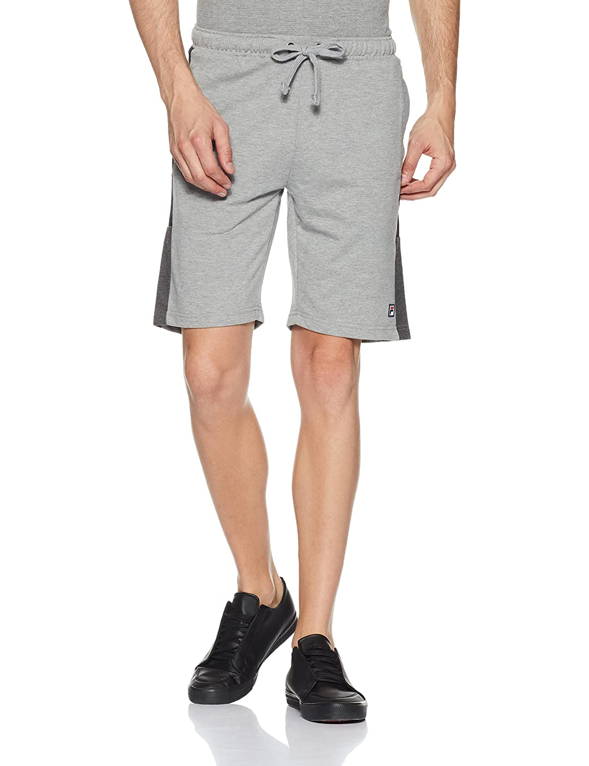c22c362d6a1f Fila Men s Slim Fit Cotton Shorts  Amazon.in  Clothing   Accessories