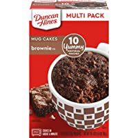 Deals on 10CT Duncan Hines Mug Cakes Brownie Mix 26.4oz