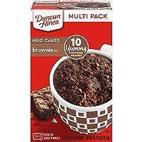 10CT Duncan Hines Mug Cakes Brownie Mix 26.4oz Deals