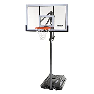 Lifetime 71522 - 54 Inch Acrylic Portable Basketball Hoop