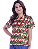 Virgin Crafts Women's Christmas Vacation Hawaiian Shirt