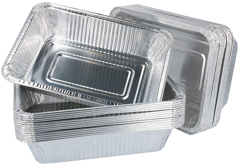 com-four® 15 bandejas de Aluminio para Parrillas, Cuencos ...