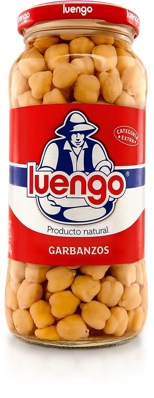 Luengo - Garbanzo Cocido En Frasco De 570 g: Amazon.es: Alimentación y bebidas