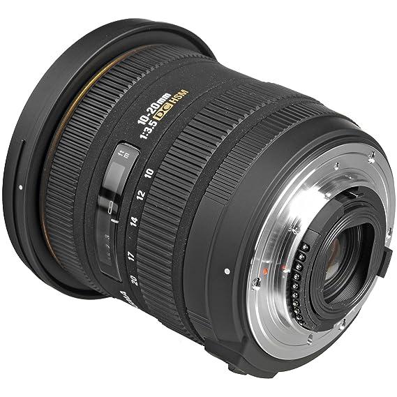 Sigma 10 - 20 mm f/3,5 EX DC HSM Objetivo Zoom con Carcasa + ...