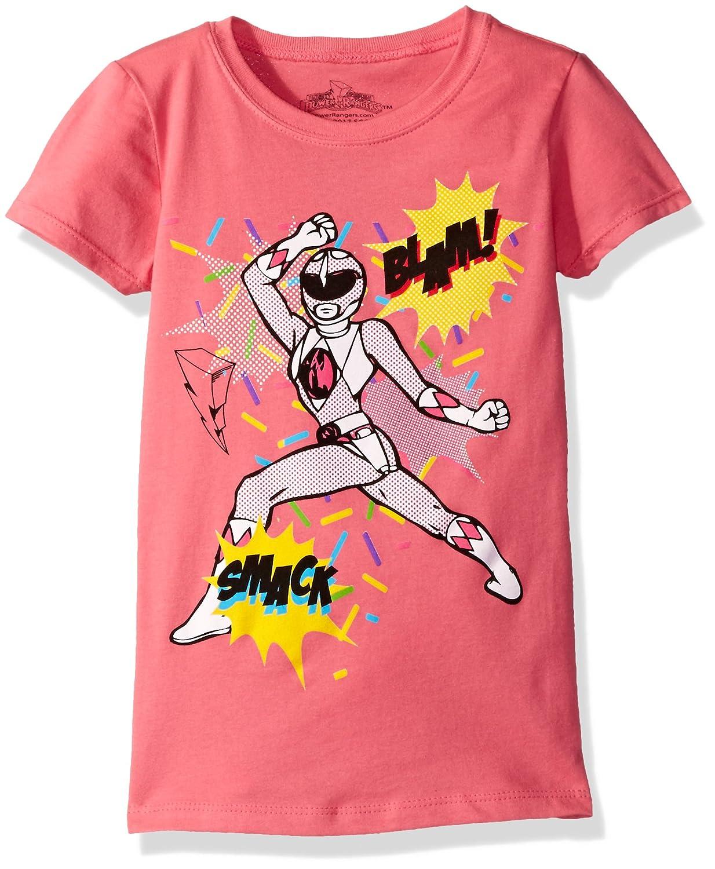 Power Rangers Girls Ranger Cap Sleeve T-Shirt Freeze Children' s Apparel