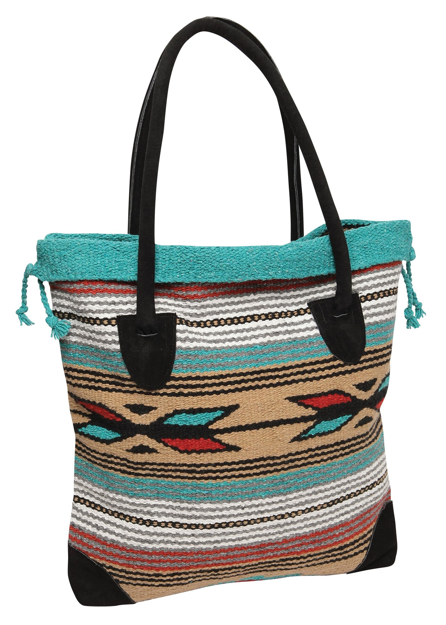Southwest Native American and Mexican Style Tote Bags Feather Hawkeye L