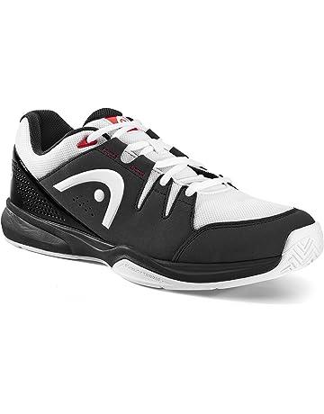 wholesale dealer eb46b f02ea HEAD Unisex Adults  Black White Squash Shoes