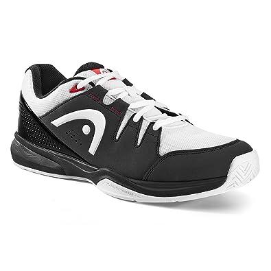 HEAD Grid, Chaussures Multisport Indoor Mixte Adulte, Noir (Black/White), 42.5 EU