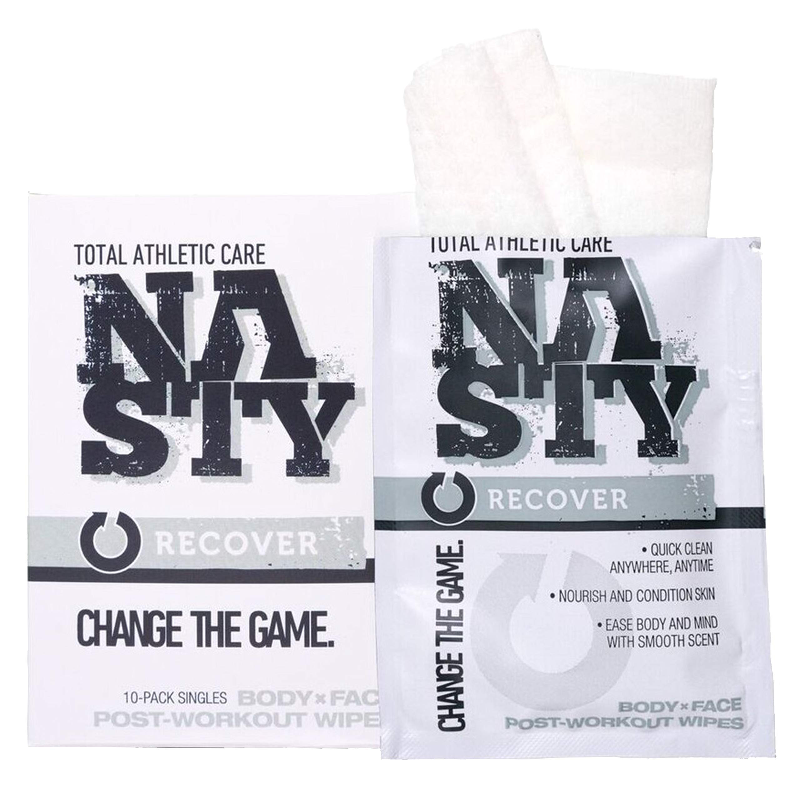 Amazon.com: NASTY Body Cleansing Wipes for No Rinse Bath, Shower, After  Workout - Best for Men, Women & Teens (10 Individually Wrapped): Beauty