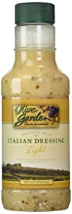 Olive Garden Light Italian Dressing, 16 oz (Pack of 2)