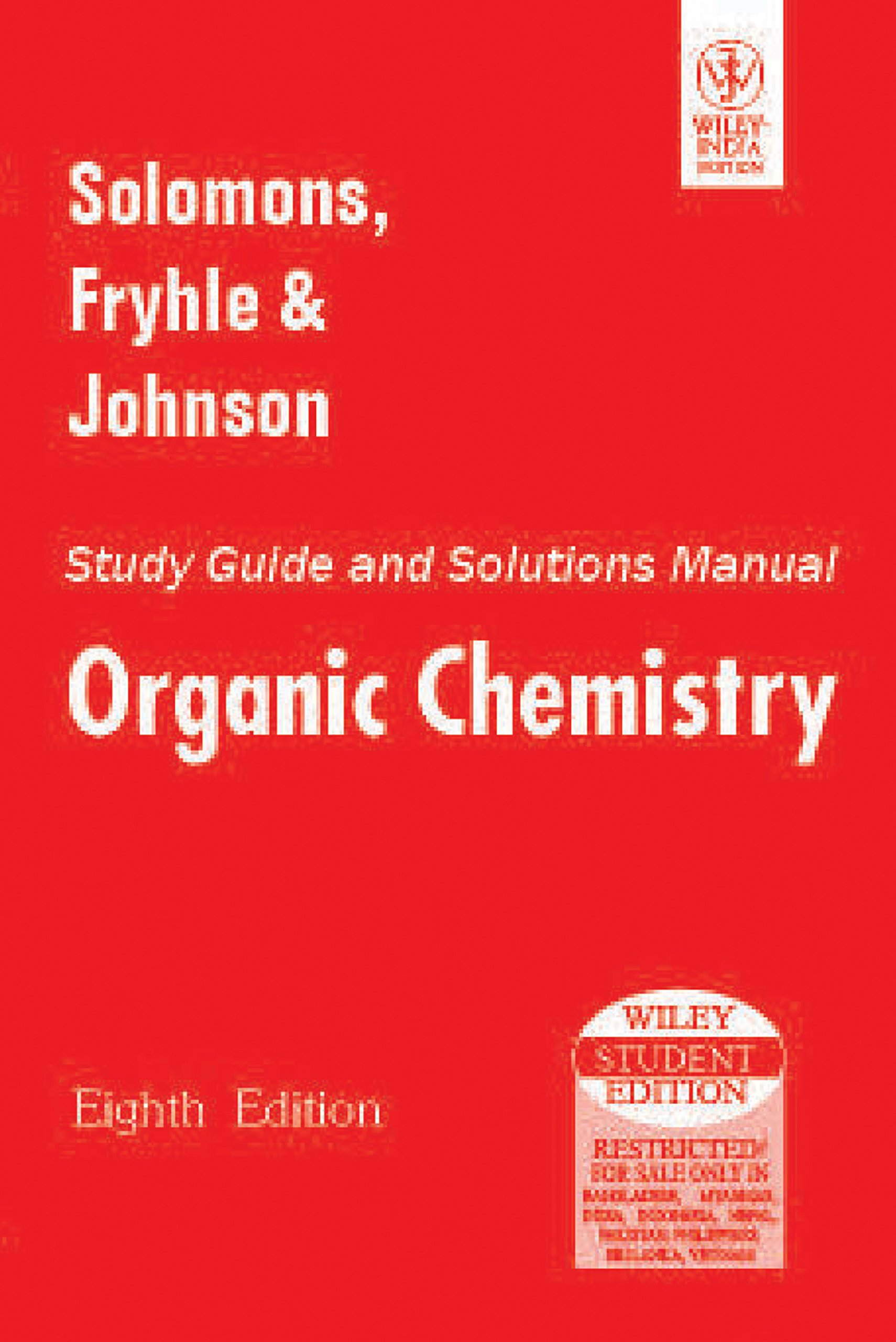 buy organic chemistry study guide and solutions manual book online rh amazon in Organic Chemistry Textbook solomon organic chemistry 11th edition solution manual