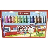 STABILO Power Wallet Felt Tip Pen -multicoloured, Pack of 30