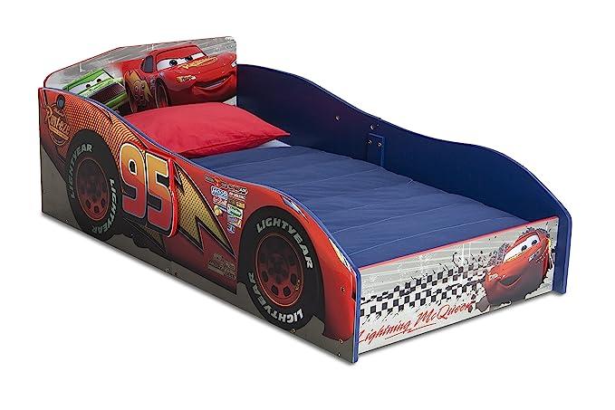 Toddler Children Kids Bed *Including Mattress* CAR F1 140 x 70 4 Speed