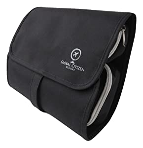 Hanging Travel Toiletry Bag for Men, Woman - Compact, Keeps You Organized, No Leak Cosmetic Kit