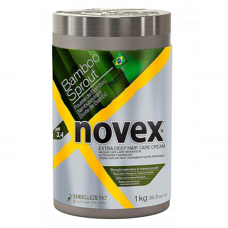 Novex Creme De Tratamento Condicionante Professional Food Therapy (Bamboo (Brotes de Bambu), 35.3oz)