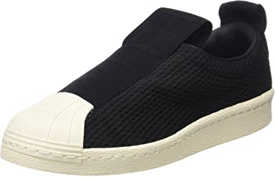 Amazon.com: adidas Superstar Slip On Mujer Zapatillas Negro ...