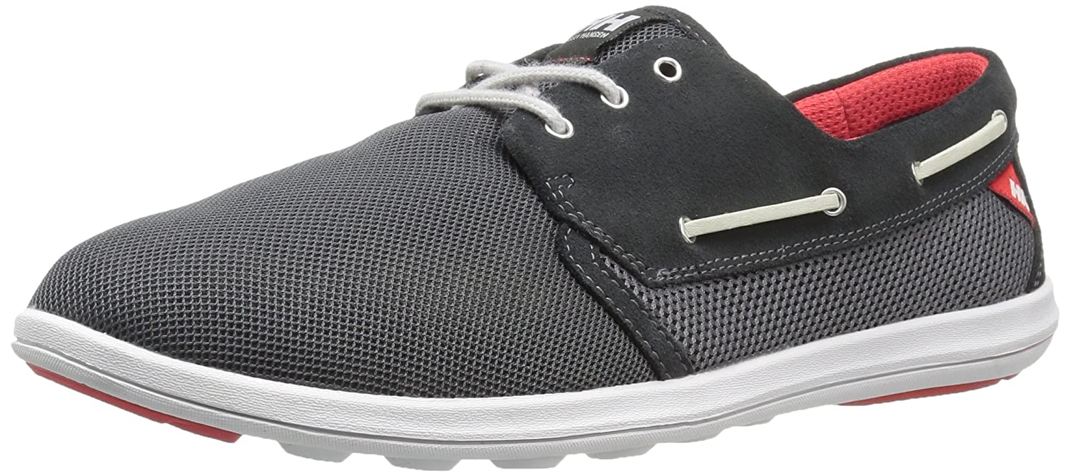 Helly Hansen Men's Lillesand Deck Shoe 13 D(M) US|Ebony/Charcoal/Mid Grey