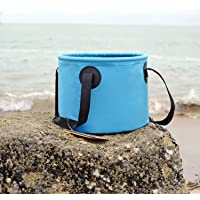 Xcellent Global 14L Folding Basin Portable Outdoor Collapsible Water Bag Wash Bucket for Camping Traveling Hiking Fishing HG146