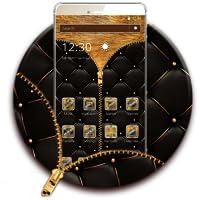 Golden Black Zipper Theme