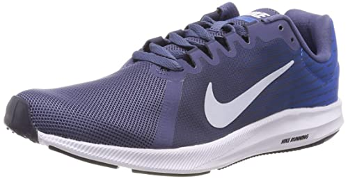 Nike Wmns Downshifter 8, Zapatillas de Entrenamiento para Mujer, Azul (Diffused Blue/Football Grey-Cobalt Blaze 404), 42 EU: Amazon.es: Zapatos y ...